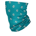 Miami Dolphins NFL Mini Logo Repeat Print Neck Gaiter *NEW*