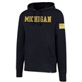 Michigan Wolverines NCAA Fall Navy OHT Mens Two Peat Headline Hoodie *SALE*
