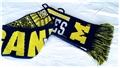 "Michigan Wolverines NCAA Reversible UGLY 60"" Team Knit Scarf *CLOSEOUT AS LOW AS $4 EACH*"