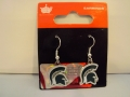 Michigan State Spartans NCAA Dangle Earrings