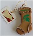 Michigan State Spartans NCAA Resin Gingerbread Stocking Ornament *CLOSEOUT*