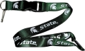 Michigan State Spartans NCAA Green Lanyard