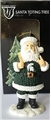 Michigan State Spartans NCAA Resin Santa Toting Tree Ornament *SALE*