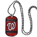 Washington Nationals MLB Dog Tag Necklace *SALE*