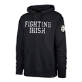Notre Dame Fighting Irish NCAA Fall Navy Embroidered Men's Stateside Striker Hoodie *NEW* Size M