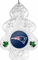 New England Patriots NFL Traditional Christmas Tree Ornament 6ct Box *NEW*
