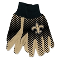 New Orleans Saints NFL Full Color Sublimated Gloves *SALE*
