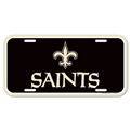 New Orleans Saints NFL Souvenir Plastic License Plate *NEW*