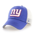 New York Giants NFL Royal Blue Hill Closer Stretch Fit Mesh Hat *NEW*