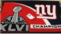 "New York Giants Super Bowl XLVI Champions NFL 19"" x 30"" Starter Mat"