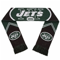 "New York Jets Reversible Stripe NFL 60"" Team Knit Scarf *CLOSEOUT*"
