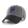 New York Mets MLB Charcoal 2 Tone MVP Adjustable Hat *NEW*