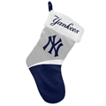 "New York Yankees MLB Basic Holiday 17"" Christmas Stocking *CLOSEOUT*"
