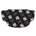 New York Yankees MLB Blue Multi Logo Fan Mask Face Covering *NEW*
