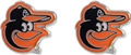 Baltimore Orioles MLB Silver Post Earrings *SALE*