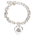 Ohio State Buckeyes NCAA Heart Charm Bracelet *APRIL CLOSEOUT*