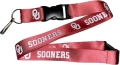Oklahoma Sooners NCAA Red Lanyard