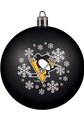 Pittsburgh Penguins NHL Snowflake Shatter-Proof Ball Ornament 6 Count Case *SALE*