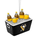 Pittsburgh Penguins NHL Resin Soda Cooler Ornament *NEW*