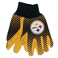 Pittsburgh Steelers NFL Full Color Sublimated Gloves *SALE*
