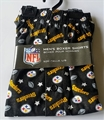 Pittsburgh Steelers NFL Stars/Footballs Men's Boxer Shorts Size L Only *SALE*