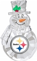 Pittsburgh Steelers NFL Traditional Snowman Ornament *NEW* - 6 Count Case