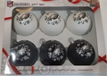 Philadelphia Eagles NFL 6 Pack Home & Away Shatter-Proof Ball Ornament Gift Set *CLOSEOUT* - 4ct Case