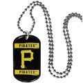 Pittsburgh Pirates MLB Dog Tag Necklace *CLOSEOUT*