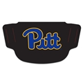 Pitt Panthers NCAA Black Fan Mask Face Covering