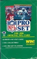1990 Pro Set NFL Series 1 Trading Cards - 36 Pack Box *NEW*