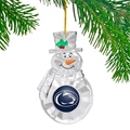 Penn State Nittany Lions NCAA Traditional Snowman Ornament *NEW* - 6 Count Case