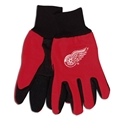 Detroit Red Wings Logo NHL 2 Tone Sport Utility Work Gloves *SALE*