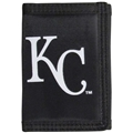 Kansas City Royals MLB Black Tri Fold Wallet *CLOSEOUT AS LOW AS $1 EACH*