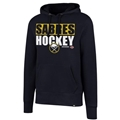 Buffalo Sabres NHL Fall Navy Headline Mens Hoodie *SALE*