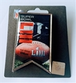 Super Bowl LIII Logo NFL Banner Collector Pin *APRIL CLOSEOUT*