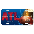 Super Bowl LIII NFL Souvenir Plastic License Plate *CLEARANCE*