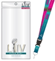 Super Bowl LIV (54) NFL Lanyard Ticket Holder & Pin Combo *NEW*