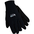 Seattle Seahawks NFL Black Sport Utility Work Gloves *CLOSEOUT*