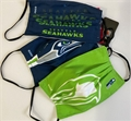 Seattle, Seahawks NFL Matchday Face Cover 3-Pack *NEW*