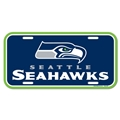 Seattle Seahawks NFL Souvenir Blue Plastic License Plate