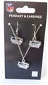 Seattle Seahawks NFL State Design Pendant & Earrings Set *SALE*