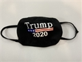 Trump 2020 Black Reusable Cotton Face Mask - 1 Dozen