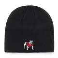 Georgia Bulldogs NCAA Black Knit Beanie *NEW*
