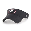 Georgia Bulldogs NCAA Black Elliot Adjustable Visor *NEW*