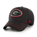 Georgia Bulldogs NCAA Black Stronaut Contender Stretch Fit Hat *NEW*
