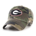 Georgia Bulldogs NCAA Camo Clean Up Adjustable Hat *NEW*