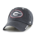 Georgia Bulldogs NCAA Charcoal Ice Clean Up Adjustable Hat *NEW*