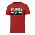Georgia Bulldogs NCAA Red Logo Club Mens T Shirt *SALE*