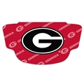 Georgia Bulldogs NCAA Multi Logo Fan Mask Face Covering *NEW*