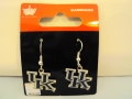 Kentucky Wildcats NCAA Dangle Earrings